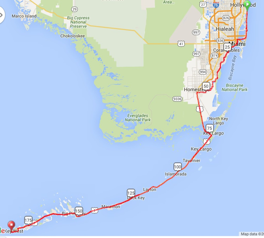 87-93-dania-beach-to-key-west-map